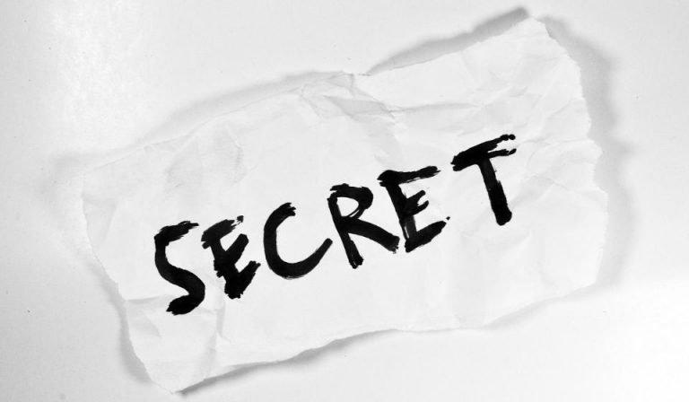 It is No Secret