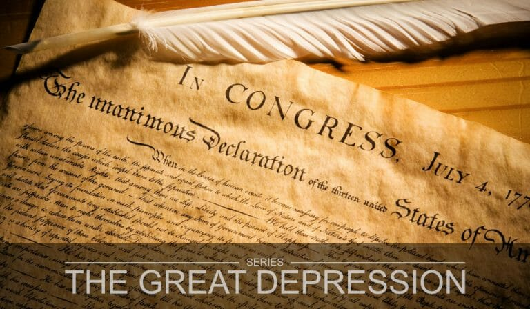 The Great Depression Part 10 – A Christian Nation