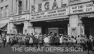 Entertainment in the Great Depression