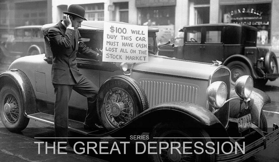 The Great Depression Part 3 – Black Days of the Stock Market Crash