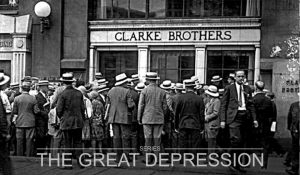 Clarke Brothers Brokerage and Bank Closes
